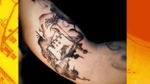 Conheça pessoas que decidiram desenhar símbolos do Espírito Santo na pele e que levam o orgulho da terra para todos os cantos