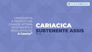 A Gazeta entrevistou o candidato para comandar Cariacica pelos próximos quatro anos. Saiba o que ele propõe para economia local, saúde, infraestrutura, educação e segurança pública. Veja o vídeo