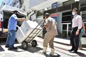 O município recebeu 4.263 doses do governo do Estado, nesta terça-feira (19). A aplicação da segunda dose será realizada após 30 dias