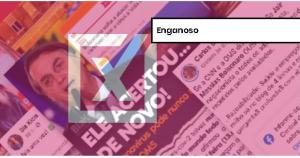 Reportagens com falas antigas de representantes da Organização Mundial da Saúde sobre o enfrentamento à pandemia são retiradas de contexto para reforçar o discurso do presidente Bolsonaro sobre o fim das medidas de distanciamento social.