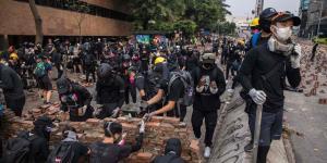 Senate Unanimously Approves Measure Backing Hong Kong Protesters
