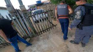 A operação foi realizada na manhã desta quarta-feira (10) e teve por objetivo prender o chefe do tráfico da região; sete pessoas foram detidas