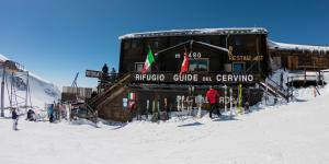 Italy's Alpine Border Melts and Leaves a Pasta Restaurant In Switzerland—Maybe