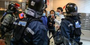 Virus Hits Hong Kong as Economy Is Still Catching Its Breath After Unrest