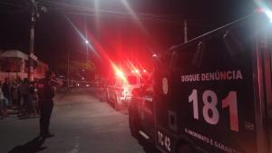 O corpo do jovem foi levado para o SML do município. O crime ocorreu no bairro Interlagos, onde uma jovem foi assassinada no último domingo (19)