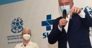 Renato Casagrande tem 60 anos e já pode se vacinar em Vitória, que abriu agendamento para a faixa etária de 60 a 64 anos