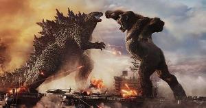 Aguardado embate entre Godzilla e Kong, 'Godzilla vs. Kong' trata suas criaturas com reverência e confere ao filme uma pegada de super-heróis