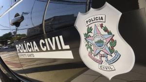 O suspeito, segundo a polícia, pretendia sair da cidade e foi preso momentos antes da fuga