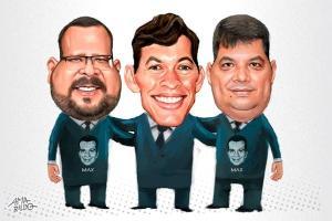Na mesma função agora, Rogério Cardoso (DEM) foi líder do então prefeito na Câmara de Vila Velha de 2017 a 2018. Já Osvaldo Maturano filiou-se ao PSDB por causa de Max e reelegeu-se vereador pelo partido