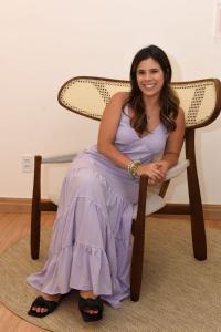 Betina Lyrio de Aguiar comanda a Soleil, marca de moda praia com duas lojas no Espírito Santo e vendas para todo o Brasil