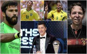 Protagonista na seleção dos melhores da história da Revista France Football, futebol brasileiro foi coadjuvante em premiação da Fifa. Sintomático