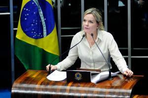 Gleisi Hoffmann evitou relacionar o resultado com o lançamento da pré-candidatura de Lula à Presidência, algo que os petistas dão como certo nos bastidores