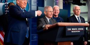 As Coronavirus Crisis Deepens, Trump and Fauci Form Complicated Bond